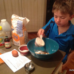 Making whole-wheat muffins
